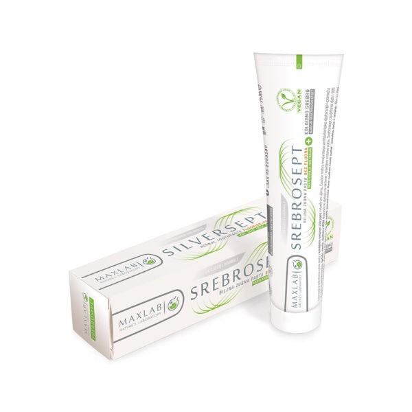 najbolja zubna pasta za zube srebrosept bez fluora